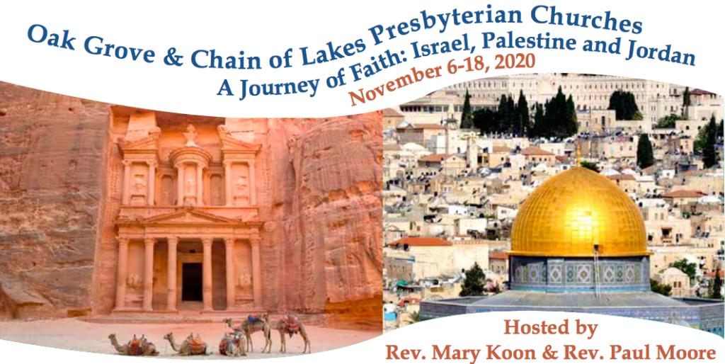 holy land trip 2020